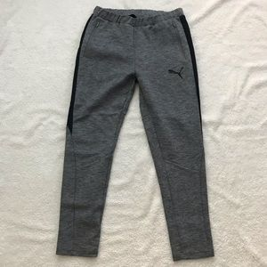 Puma Grey Men's Jogger Sweatpants